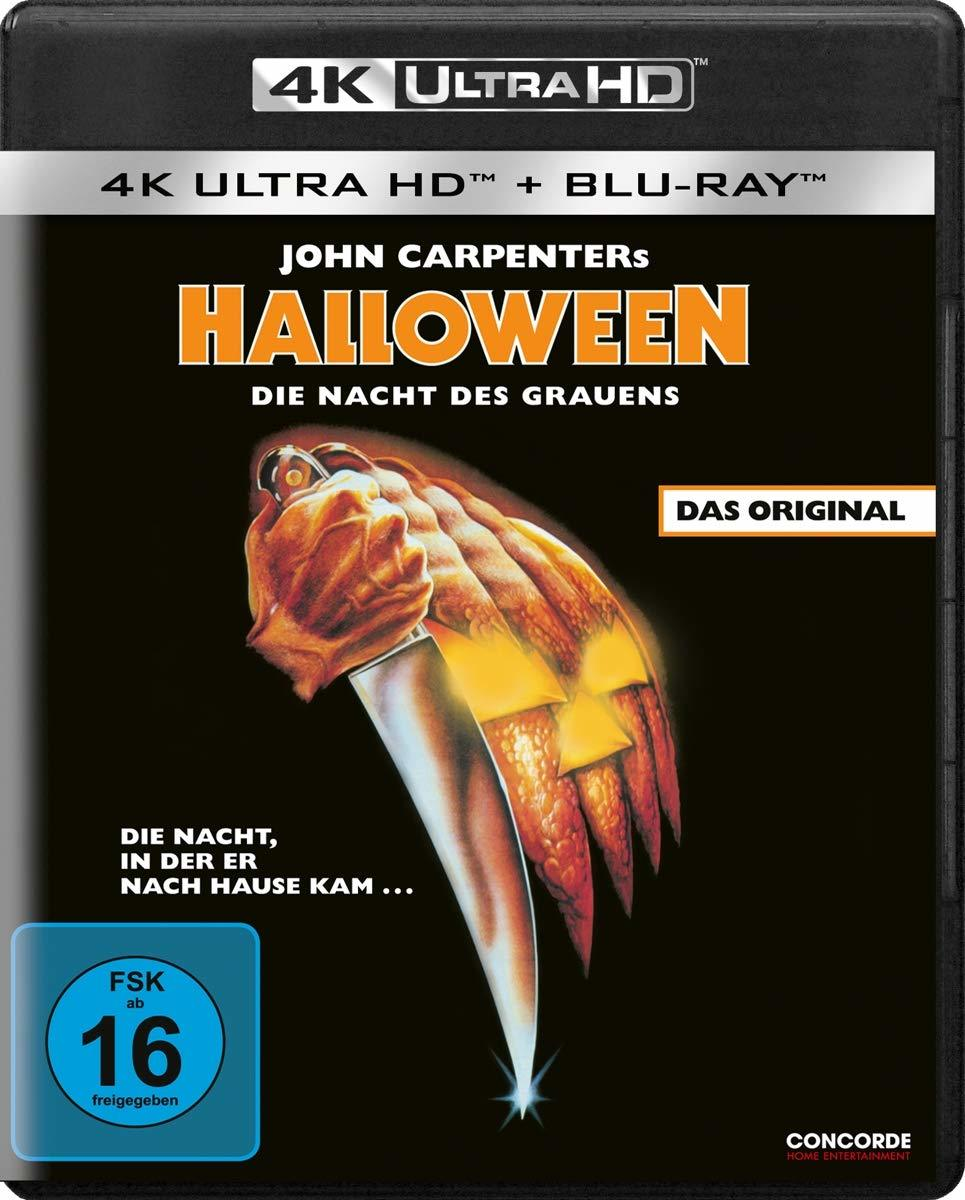 """Die Nacht des Grauens: Wir verlosen zum 4K-Heimkinostart des Horror-Klassikers """"Halloween -Die Nacht des Grauens"""" eine BD"""