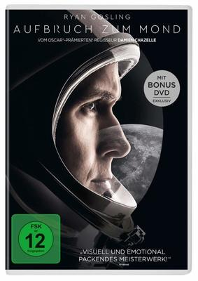 """Bis zur Unendlichkeit: Wir verlosen zur beeindruckenden Biografie """"Aufbruch zum Mond"""" eine DVD oder BD"""