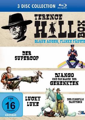 Blaue Augen, flinke Fäuste: Wir verlosen zum 80. Geburtstag von Terence Hill die neue Terence Hill Box