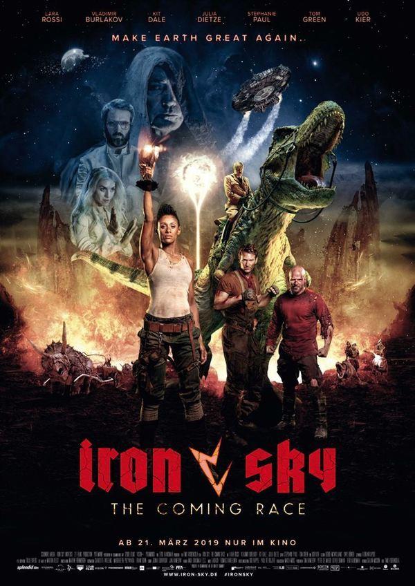 """Die Nazis sind zurück: Wir verlosen zum Kinostart von """"Iron Sky 2: The Coming Race"""" ein tolles Fan-Paket"""