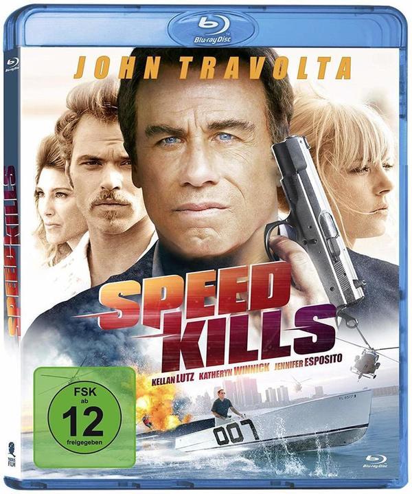 """Wir verlosen """"Speed Kills"""" mit John Travolta und """"Vikings""""-Star Katheryn Winnick auf BD"""
