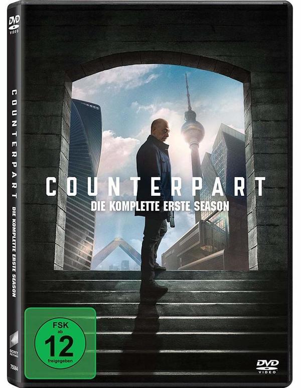 """Schattenwelt: Wir verlosen Staffel 1 von """"Counterpart"""" mit J.K. Simmons auf DVD"""