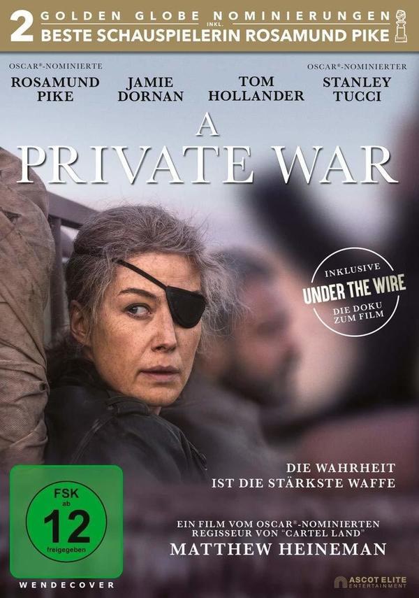 """Rosamund Pike durchlebt """"A Private War"""": Wir verlosen den Film auf DVD und BD"""