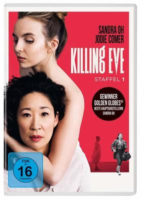 """Spionin gegen Auftragsmörderin: Wir verlosen Staffel 1 von """"Killing Eve""""  auf DVD"""