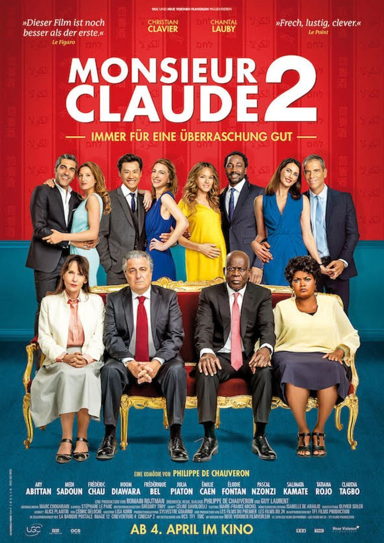 """Wir verlosen zum Kinostart von """"Monsieur Claude 2"""" ein kulinarisches Fan-Paket"""