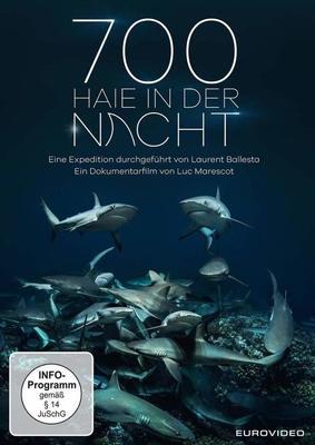 """In unbekannten Tiefen: Wir verlosen die beeindruckende Dokumentation """"700 Haie in der Nacht"""" auf DVD oder BD"""