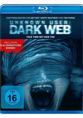 """Face Time mit dem Tod: Wir verlosen die Horror-Fortsetzung """"Unknown User 2: Dark Web"""" auf BD"""