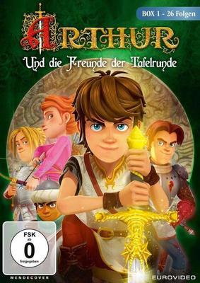 """Ein neues Abenteuer: Wir verlosen die erste Staffel von """"Arthur und die Freunde der Tafelrunde"""" auf DVD"""