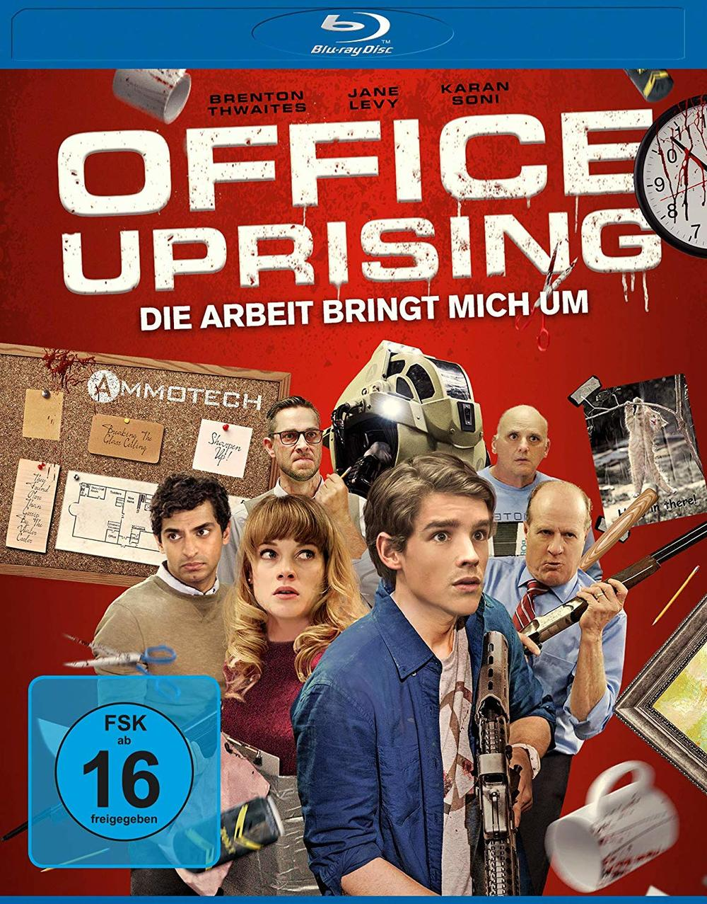 """Die Arbeit bringt mich um: Wir verlosen die Zombie-Horror-Komödie """"Office Uprising"""" auf BD"""