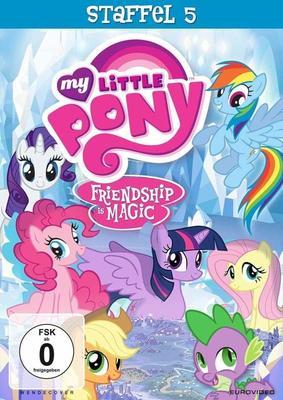"""Zusammen sind wir stark: Wir verlosen die fünfte sowie sechste Staffel von """"My Little Pony - Freundschaft ist Magie"""" auf DVD"""