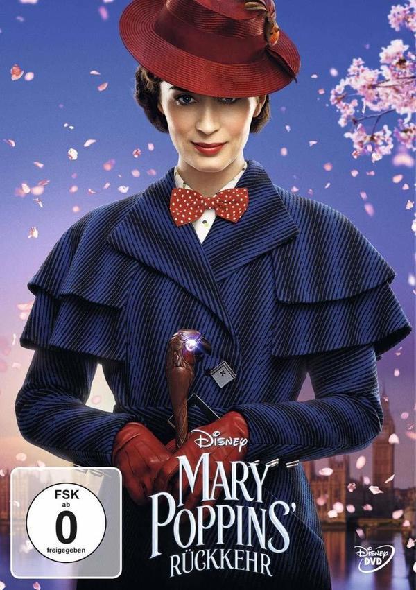 """Supercalifragilisticexpialigetisch: Wir verlosen zum Heimkinostart von """"Mary Poppins' Rückkehr"""" tolle Fan-Pakete"""