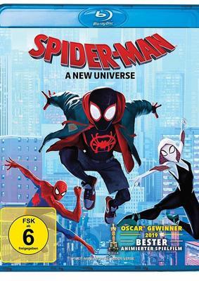 """Ein ganzes Universum: Wir verlosen den Oscar-Prämierten Animations-Hit """"Spider-Man: A New Universe"""" auf BD"""