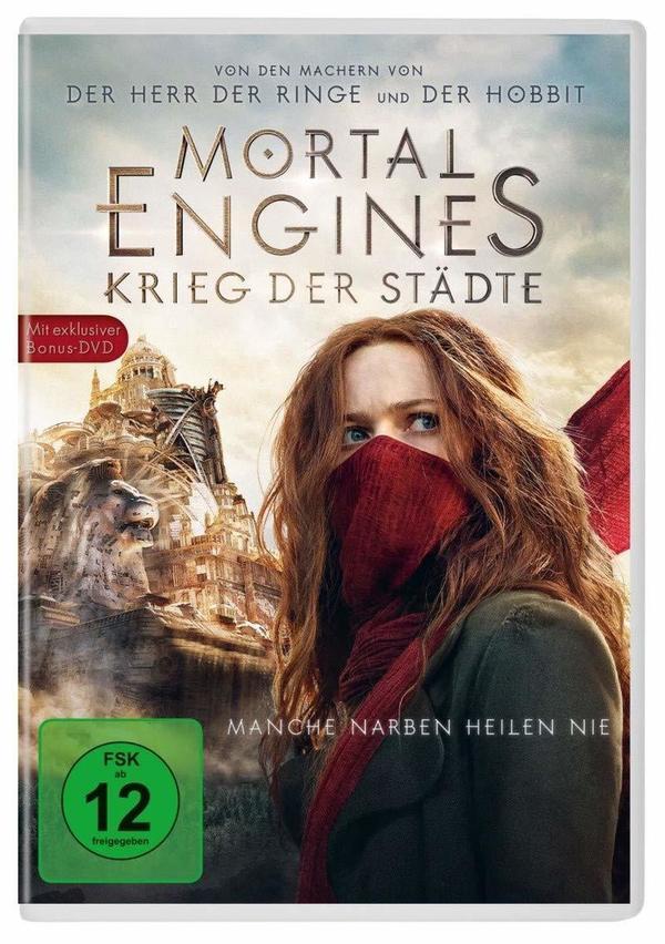 """Krieg der Städte: Wir verlosen den Blockbuster """"Mortal Engines: Krieg der Städte"""" auf DVD oder BD"""