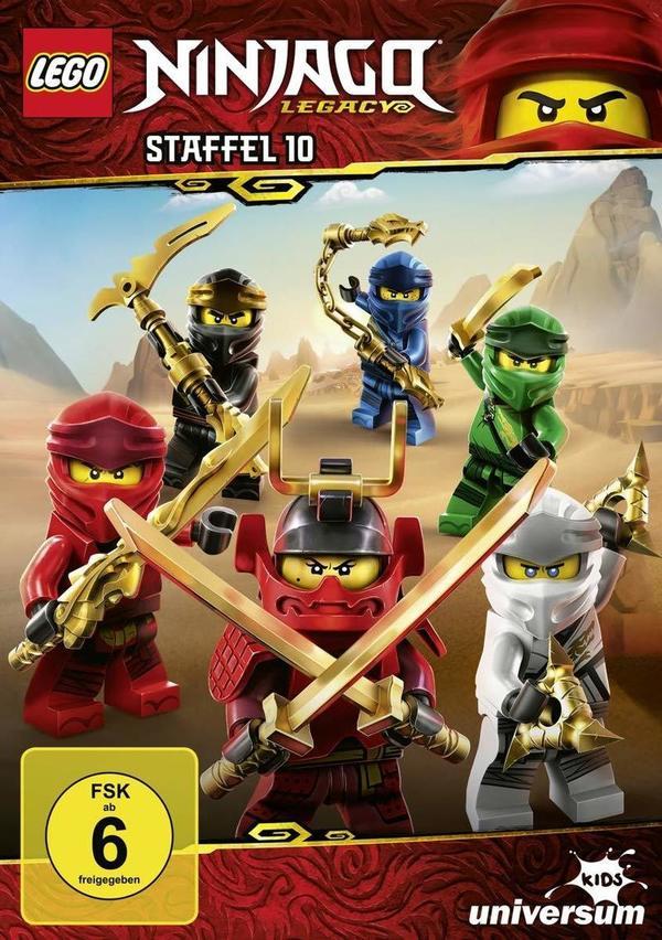 """Eine neue Bedrohung: Wir verlosen die zehnte Staffel von """"LEGO Ninjago"""" auf DVD sowie die Hörspiele 37 und 38 auf CD"""