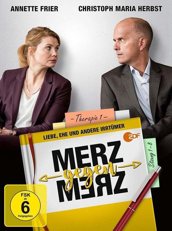 """Liebe, Ehe und andere Irrtümer: Wir verlosen die Comedy-Serie """"Merz gegen Merz"""" auf DVD"""