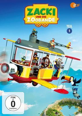 """Tierischer Spaß für Kinder: Wir verlosen Teil eins von """"Zacki und die Zoobande"""" auf DVD"""