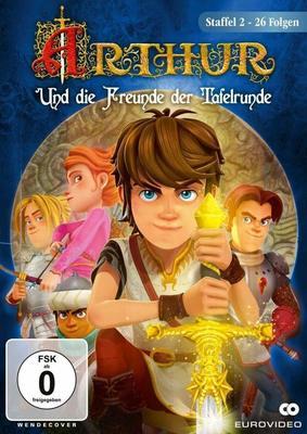 """Ritterlicher Spaß: Macht mit und gewinnt Staffel 2 von """"Arthur und die Freunde der Tafelrunde"""" auf DVD"""