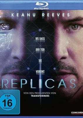"""Ein Keanu Reeves reicht eben nicht: Wir verlosen den Sci-Fi-Thriller """"Replicas"""" auf BD"""