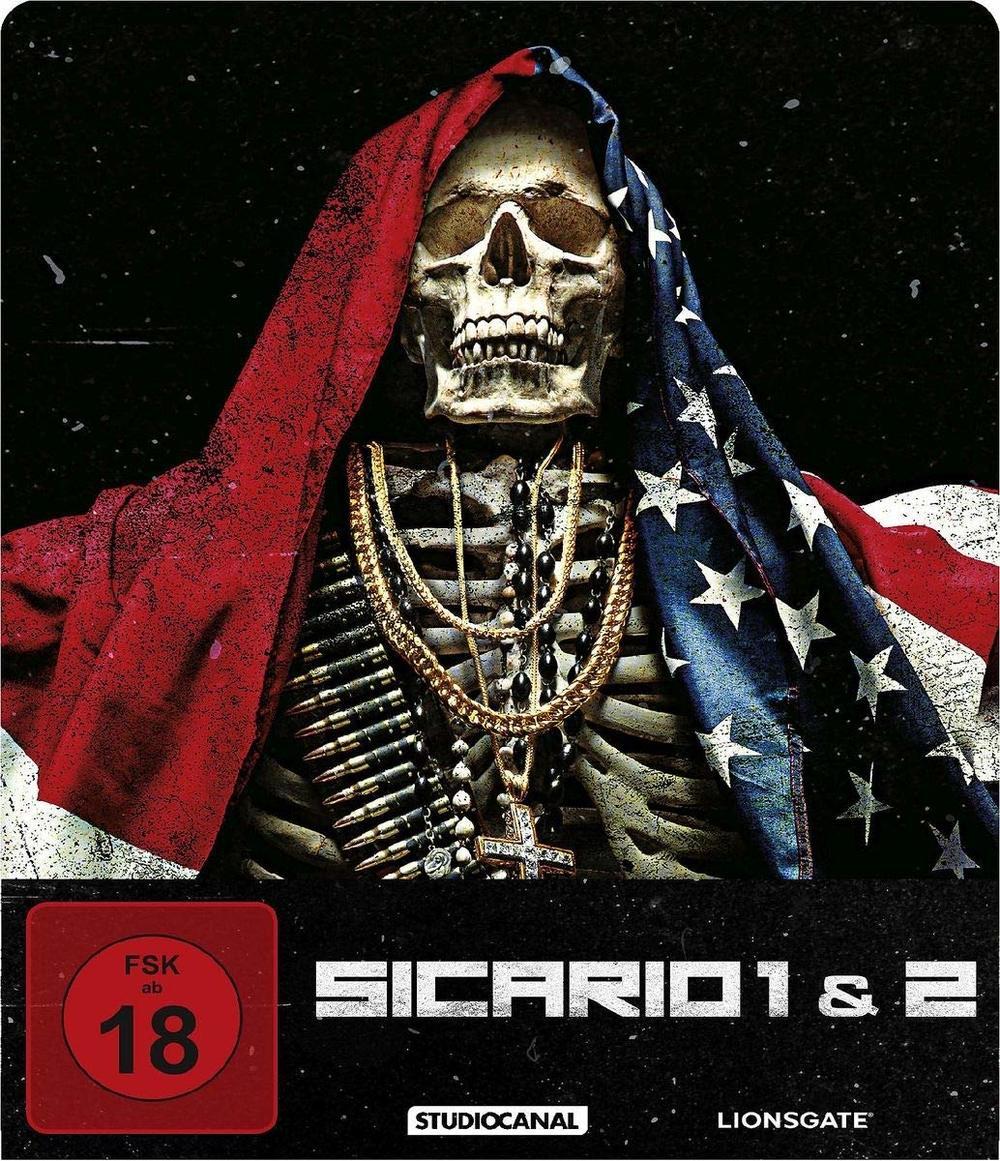 """Im Visier des Drogenkriegs: Wir verlosen die beiden Kult-Thriller """"Sicario 1 & 2"""" als Limited Steelbook Edition"""