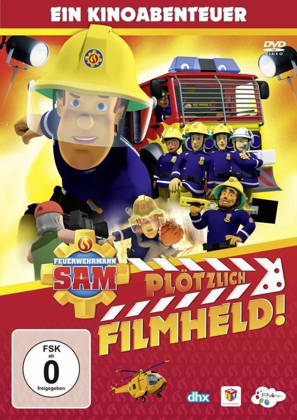 """Das nächste Abenteuer wartet schon: Wir verlosen das Kinder-Abenteuer """"Feuerwehrmann Sam - Plötzlich Filmheld"""" auf DVD oder BD"""