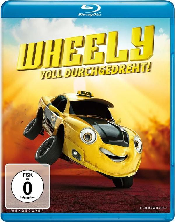 """High Speed Spaß für Kids: Wir verlosen """"Wheely - Voll durchgedreht!"""" auf BD"""