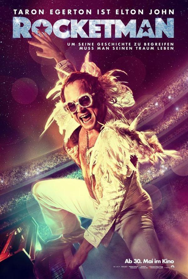 """Rock 'n' Roll: Zum Kinostart von """"Rocketman"""" über Elton John verlosen wir tolle Fan-Pakete"""