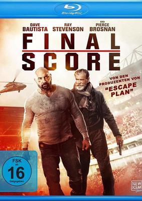 """Dave Bautista rettet den Tag und jede Menge Fußballfans: Wir verlosen """"Final Score"""" auf BD"""