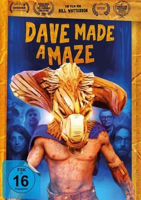 """Das verrückteste Labyrinth der Welt: Wir verlosen den Abenteuer-Horror-Spaß """"Dave Made a Maze"""" auf DVD oder BD"""
