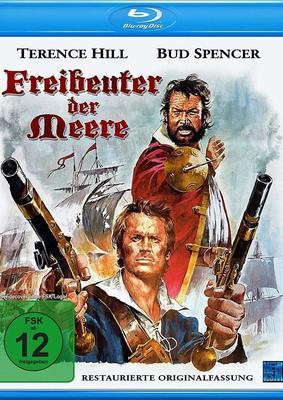 """Ahoi, Bud Spencer und Terence Hill: Wir verlosen """"Freibeuter der Meere """" in der restaurierten Originalfassung auf BD"""