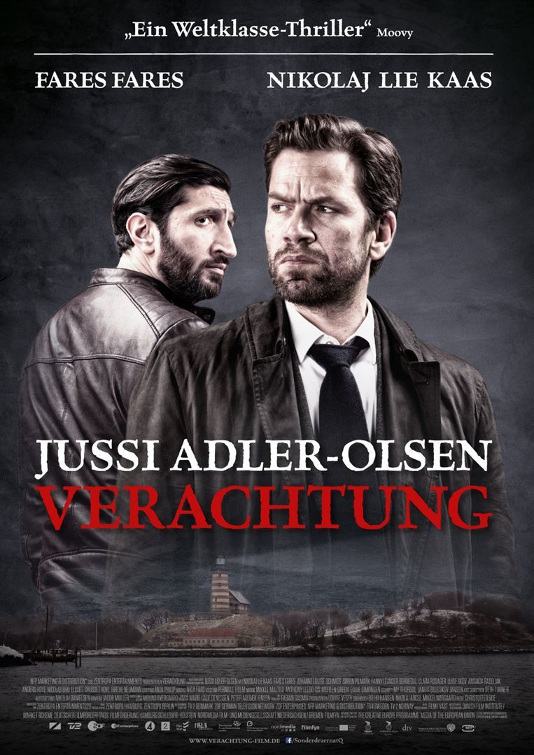 """Die Fortsetzung der Jussi Adler-Olsen Reihe: Zum Kinostart von """"Verachtung"""" verlosen wir tolle Fan-Pakete"""