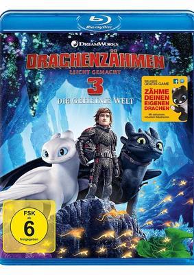 """Abschluss der Trilogie: Wir verlosen """"Drachenzähmen leicht gemacht 3: Die geheime Welt"""" auf BD"""