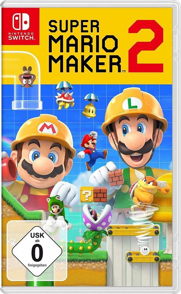 """Wir verlosen zwei Fanpakete zum Spiel """"Super Mario Maker 2"""" für Nintendo Switch!"""
