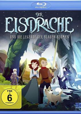 """Wir verlosen den märchenhaften Animationsfilm """"Der Eisdrache und die Legende der blauen Blumen"""" auf BD"""