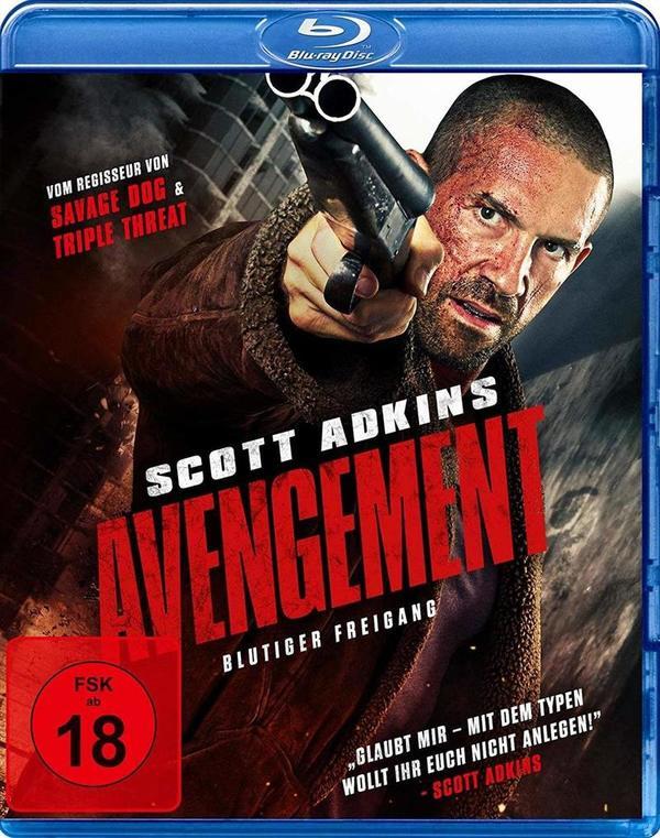 """Volles Pfund aufs Maul: Wir verlosen """"Avengement - Blutiger Freigang"""" mit Scott Adkins auf BD"""