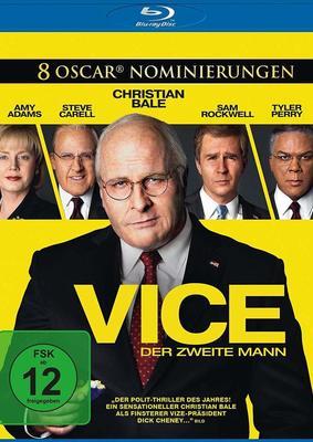 """Wir verlosen """" Vice - Der zweite Mann"""" auf BD und legen noch ein passendes Buch obendrauf"""