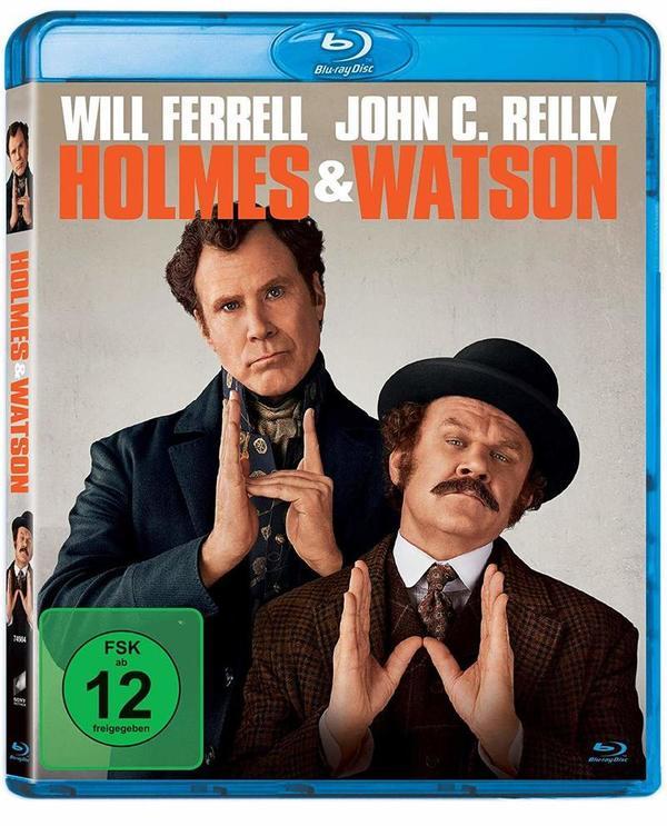 """Kombiniere, hier könnt ihr """"Holmes & Watson"""" mit Will Ferrell und John C. Reilly auf BD gewinnen"""