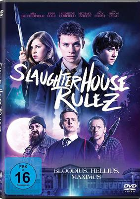 """Wir verlosen die Horrorkomödie """"Slaughterhouse Rulez"""" mit Simon Pegg und Nick Frost auf DVD"""