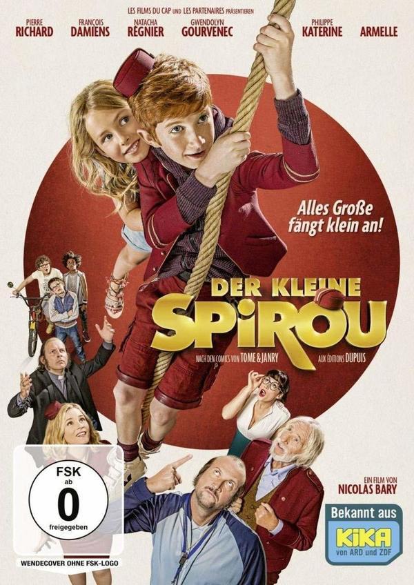 """Kinderkino aus Frankreich für daheim: Wir verlosen """"Der kleine Spirou"""" auf DVD"""