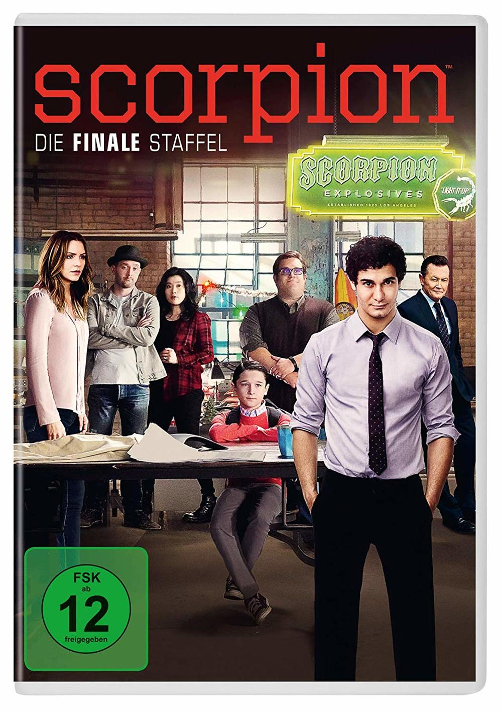 """Genies unter sich: Wir verlosen die 4. Staffel von """"Scorpion"""" auf DVD"""