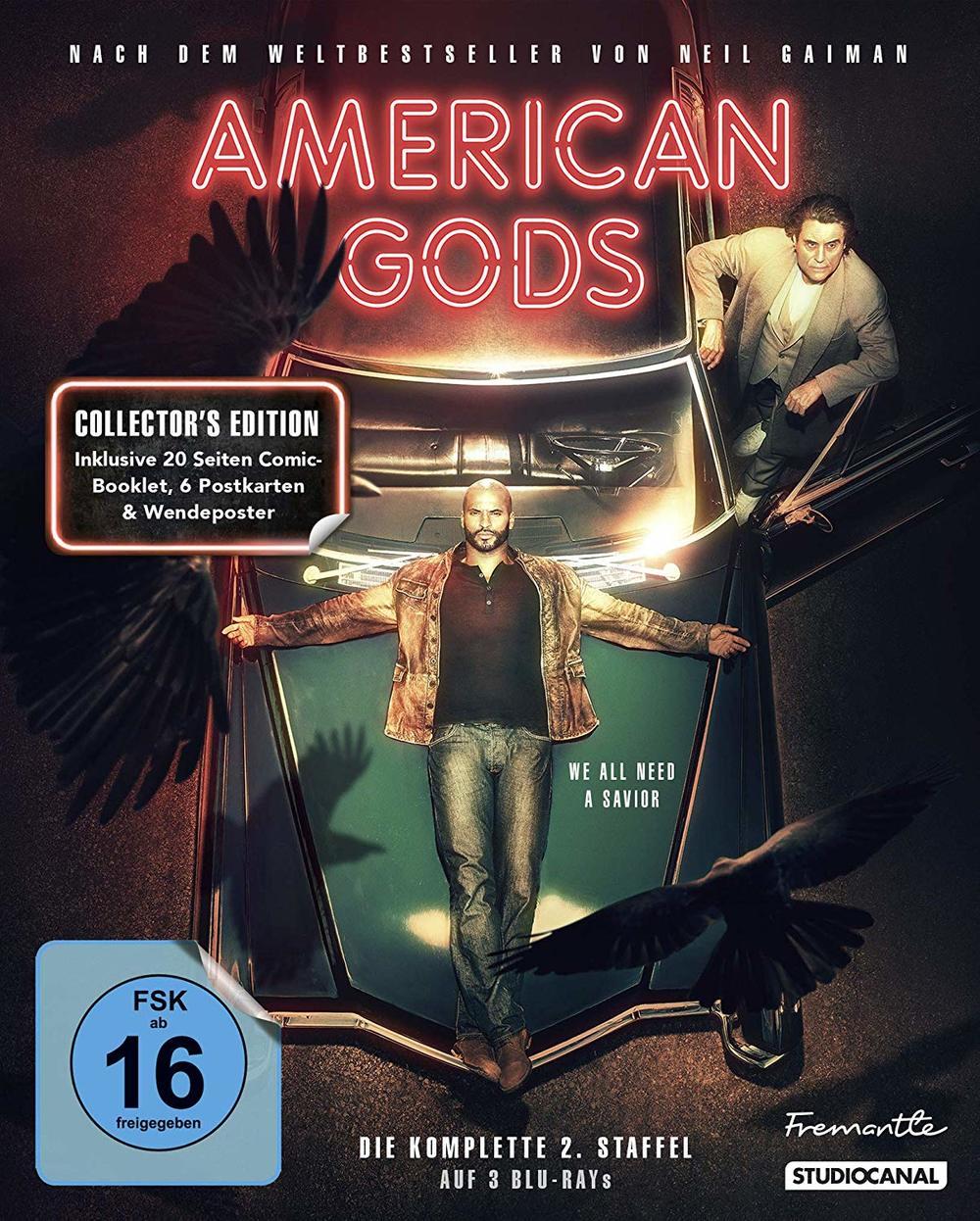 """Das göttliche Abenteuer geht weiter: Wir verlosen zum Start von """"American Gods"""" Staffel 2 ein tolles Fan-Paket"""