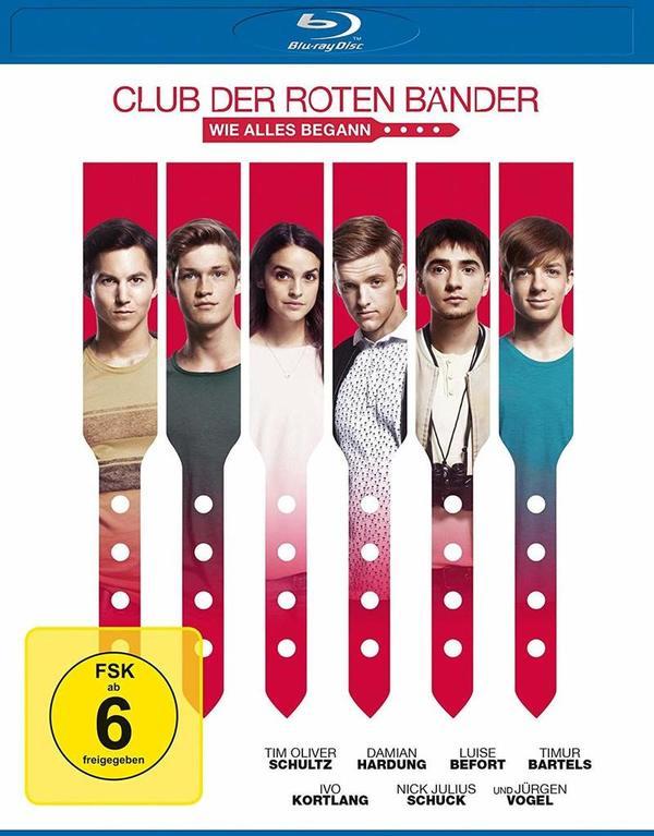 """Gemeinsam stark: Wir verlosen zum Heimkinostart von """"Club der roten Bänder - Wie alles begann"""" ein tolles Fan-Paket"""