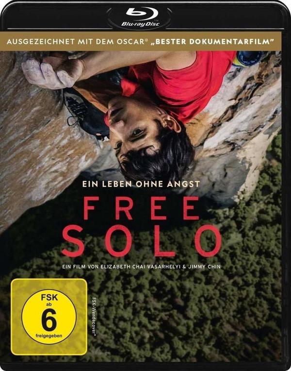 """Ein Leben ohne Angst: Wir verlosen die Oscar-prämierte Dokumentation """"Free Solo"""" auf BD"""