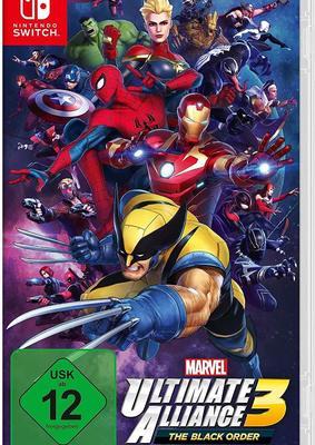 """Wir verlosen drei Fanpakete zum Videospiel """"Marvel Ultimate Alliance 3: The Black Order"""" für Nintendo Switch!"""