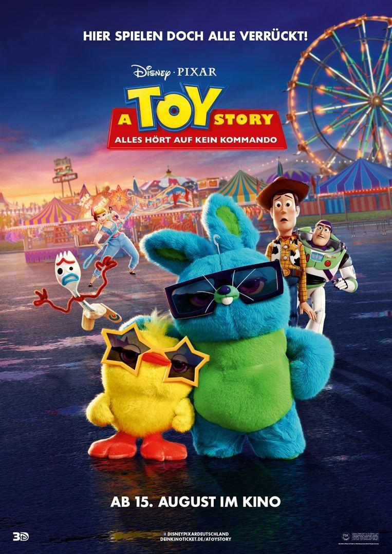 """Eine Gabel sorgt für Chaos: Wir verlosen zum Start von """"A Toy Story: Alles hört auf kein Kommando"""" tolle Fan-Pakete"""