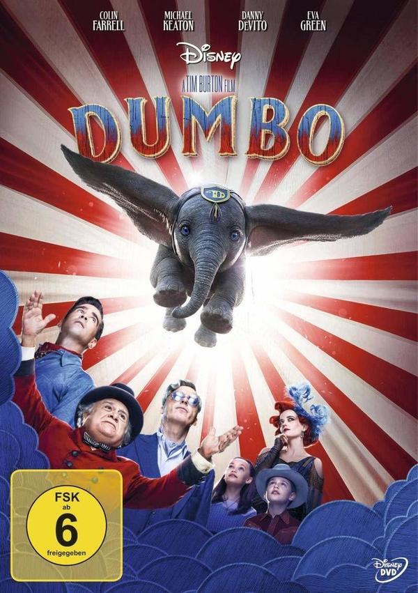 """Die Magie lebt: Wir verlosen zum Heimkinostart von """"Dumbo"""" tolle Fan-Pakete"""