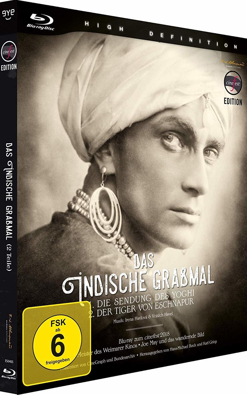 """Ein opulentes Meisterwerk: Wir verlosen den Stummfilmklassiker """"Das indische Grabmal"""" auf BD"""