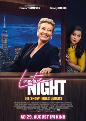 """Fans von Emma Thompson aufgepasst: Wir verlosen Freikarten und Poster zu """"Late Night - Die Show ihres Lebens"""""""