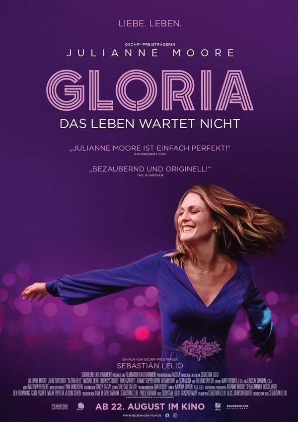"""Julianne Moore in Bestform: Wir verlosen zum Kinostart von """"Gloria - Das Leben wartet nicht"""""""
