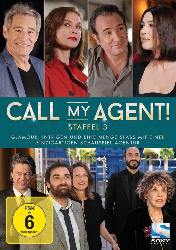 """Glamour, Intrigen und Spaß: Wir verlosen die dritte Staffel von """"Call my Agent!"""""""
