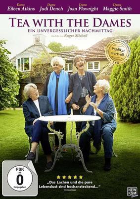 """Champagner gibt's auch: Wir verlosen die eindringliche Dokumentation """"Tea With The Dames - Ein unvergesslicher Nachmittag"""" auf DVD oder BD"""